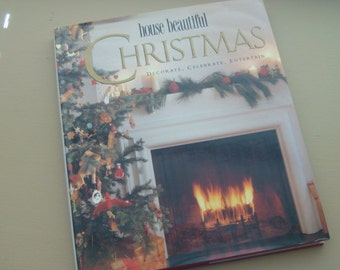 Vintage House Beautiful Christmas Decorate Celebrate Entertain Decorating for Christmas Idea Book Beautiful Holiday Decorating Ideas