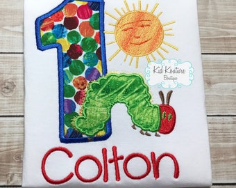 Very Hungry Caterpillar Birthday shirt