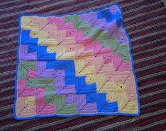 Building Block baby blanket