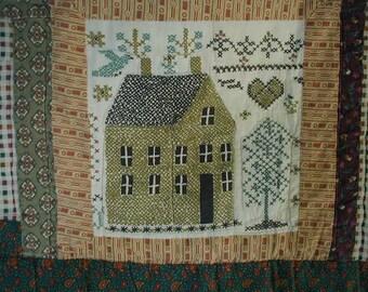 Cabin Cross Stitch Etsy