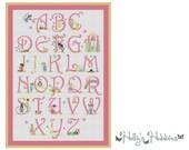 Fairy Alphabet - Cross Stitch Chart
