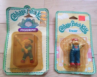 Vintage Cabbage Patch Figurines 80s