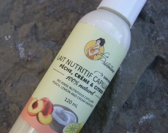 Hair nutritive and detangling sweet milk