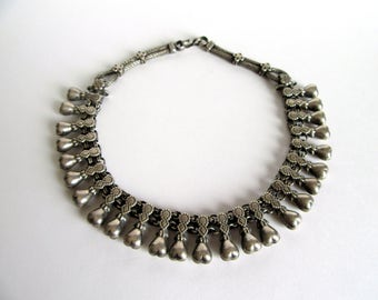 India Silver Necklace.
