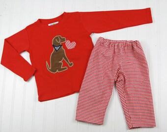 Boy Valentine Outfit | Etsy