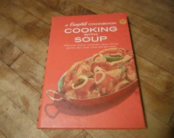 Campbell Cooking with Soup Vintage 608 recipes