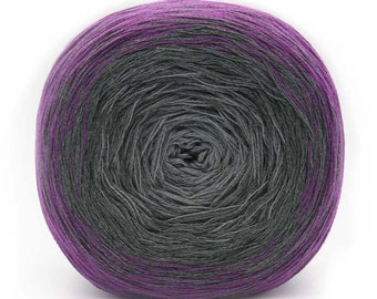 Transitions 3-Ply Laceweight Cotton Acrylic Shawl Yarn Color 7