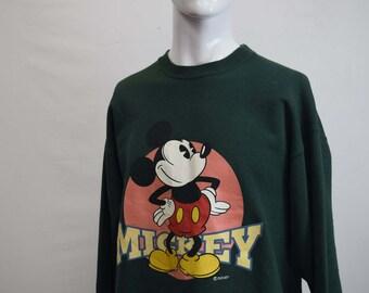 Vintage Micky Mouse Disney Sweatshirt