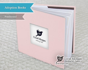 Adopted Baby Memory Book - Soft Pink