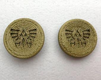 Fandom Caps for Fidget Spinners - Zelda - Hyrule Symbol - Comfort Cap Style  3D printed toy