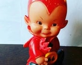 Darling little Devil doll Reserved for Beckie