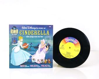 Disney's Cinderella Book and Record 1977