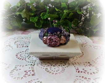 Petite Royal Roses Pin Cushion