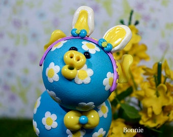 Bonnie Easter Polymer Clay Piglet