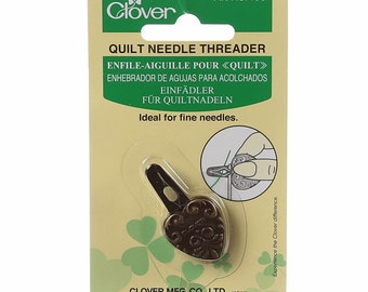 Quilt Sewing Needle Threader, by Clover, Art No. 466