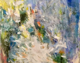 Winter, Large Abstract Art/Painting, Floral, Landscape