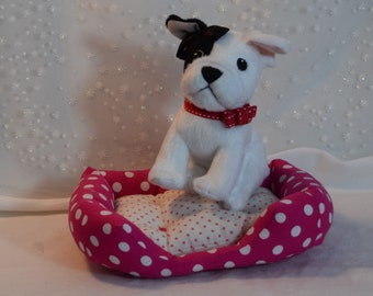 Pet Bed for 18 inchand American Girl dolls Furry Friends