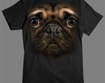 Pug 3 D Shirt