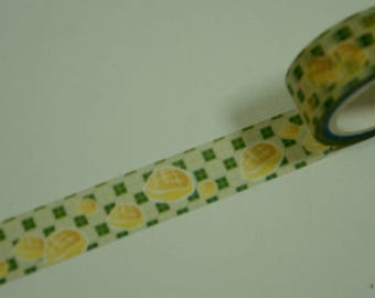 1 Roll of Japanese Washi Masking Paper Tapes: Bread