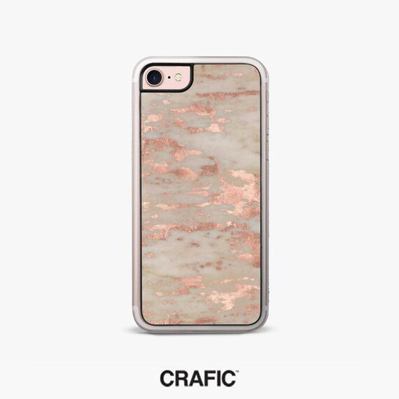 Genoa Marble iPhone 7 Case, Rose Gold iPhone 7 Plus Case CRAFIC, iPhone 6 / 6s Case, iPhone 6s case, iPhone 6 plus cover