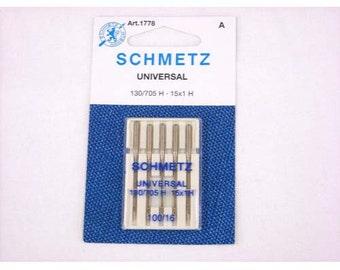 Schmetz Universal Needle Size 100/16
