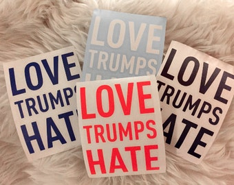 Stickers 100% donated to ACLU, Planned Parenthood, Southern Poverty Law Center - 4 colors available