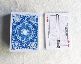 Visual Hyperliteracy Playing Cards