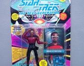 Vintage Star Trek Geordi La Forge (MOC) Mint On Card UnPunched