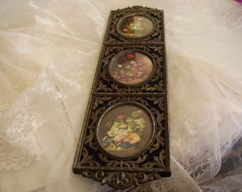Vintage Metal Picture Decor/Italy