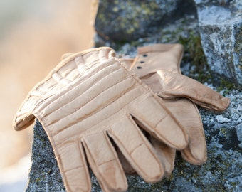 Leather Gloves; Padded Gloves; Men's Gloves