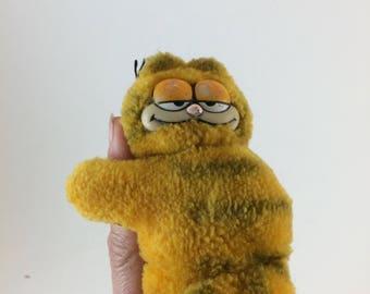Garfield clip pencil holder finger paper AS IS fat ginger cat 1980s fad memorabilia