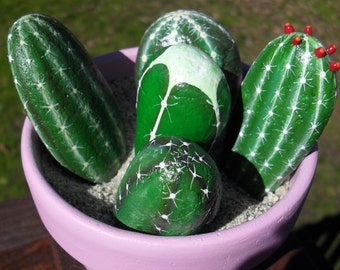 Cactus Rock Garden OOAK