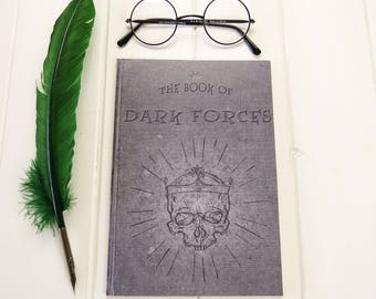 Dark Forces A5 Notebook - Death Eater Notebook - Witches & Wizards - Back to School - Geek Gift - Notepad Jotter - Magic - Stationery
