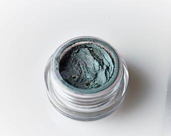 Twilight . Mineral Eye Shadow . Green . Grey . Ocean. Everyday Eye Shadow . Loose Mineral Cosmetics . Naked . Natural Beauty