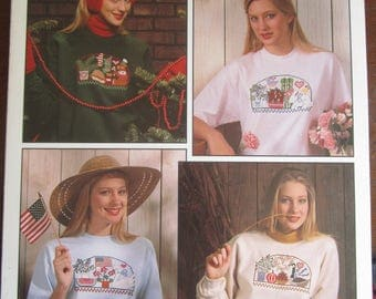 For Each Season in Wastre Canvas Leisure Arts Leaflet 2175
