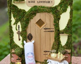 When life hands you Lemons Fairy Door