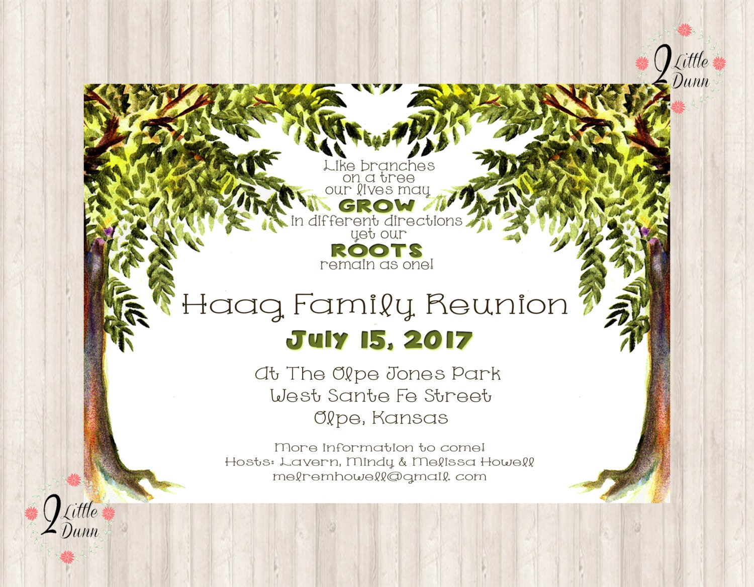 This is a photo of Exhilarating Free Printable Family Reunion Invitations