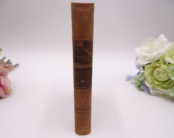 """1780 First Edition Antique Poetry Book """"A Select Collection of Poems: with Notes, Biographical and Historical""""  Volume 3 By J.Nichols"""