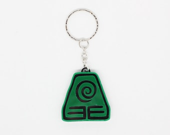 Earth Bender Keychain