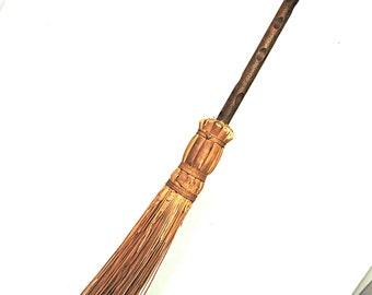 Hearth Broom Fireplace Broom Vintage Primitive Sweeping Tool