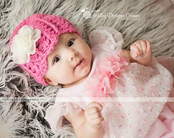 Crochet Pattern Carousel Beanie (Newborn - Adult) - PDF - Instant Digital Download