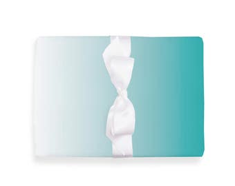 Wrapping Paper Ombre Mint 3 Sheets DIN A3