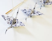 Custom order for JulieCamille, fabric origami crane mobile, baby mobile, nursery mobile, origami mobile, crib mobile, baby shower gift