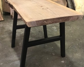 Metal Dining Table Sized A Frame Legs