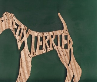 Fox Terrier Dog Toy Puzzle