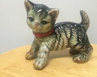 Porcelain kitten