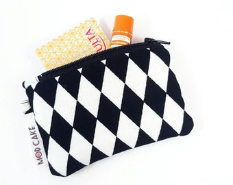 Harlequin Wallet, Change Purse, Coin Purse, Purse Insert, 60's style, Gift For Her, Birthday Gift
