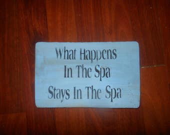 What Happens In The Spa