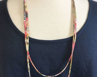 Long Necklace in Liberty Lawn
