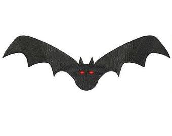 Halloween Bat Machine Embroidery Designs